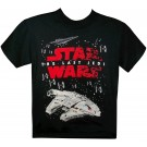 Disney Star Wars Episode VIII: The Last Jedi Space Battle Youth T-Shirt (Tshirt, T shirt or Tee) © Dizdude.com