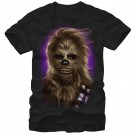Star Wars Chewbacca Glamor Shot Adult T-Shirt (Tshirt, T shirt or Tee) © Dizdude.com