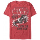Star Wars 1977 Join The Dark Side Adult T-Shirt (Tshirt, T shirt or Tee) © Dizdude.com