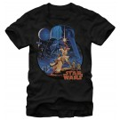 Star Wars Vintage Art Adult T-Shirt (Tshirt, T shirt or Tee) © Dizdude.com