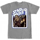 Star Wars Han & Chewie in Smugglers Stand Adult T-Shirt (Tshirt, T shirt or Tee) © Dizdude.com