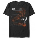 Star Wars The Last Jedi Poe Dameron's X-Wing Adult T-Shirt