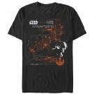 Star Wars The Last Jedi Poe Dameron's X-Wing Adult T-Shirt (Tshirt, T shirt or Tee) © Dizdude.com