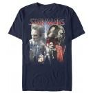 Star Wars: The Last Jedi Light Side / Dark Side Adult T-Shirt (Tshirt, T shirt or Tee) © Dizdude.com