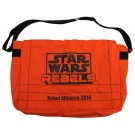Star Wars REBELS Recruitment event attendee Pack Limited Edition messanger bag - Disney Star Wars Weekends 2014 ~ © Dizdude.com