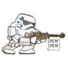 Disney Star Wars Stormtrooper Pew Pew Pin © Dizdude.com