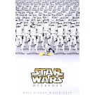 Disney Star Wars Weekends 2008 Event Logo Poster - Stormtrooper Donald Duck & Stormtroopers © Dizdude.com
