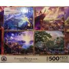 Disney World Four 500 Piece Jigsaw Puzzles © Dizdude.com