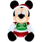 Disney Santa Mickey Baby's First Christmas 9inch Plush  © Dizdude.com