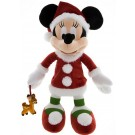 Disney Santa Minnie Mouse 15 inch Plush © Dizdude.com