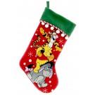Disney Winnie the Pooh & Friends Christmas Stocking © Dizdude.com