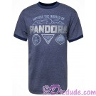 Explore The World Of Pandora Badges Adult Ringer T-shirt (Tee, Tshirt or T shirt) - Disney Pandora – The World of Avatar