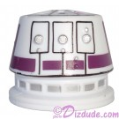 R5 White & Purple Astromech Droid Dome ~ Series 2 from Disney Star Wars Build-A-Droid Factory
