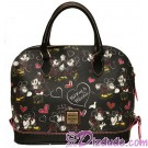Dooney & Bourke Romancing Minnie Zip Satchel - Walt Disney World Exclusive  © Dizdude.com