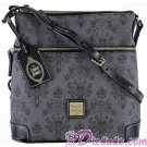 Dooney & Bourke - Disney Haunted Mansion Wallpaper Crossbody Letter Carrier Handbag © Dizdude.com