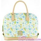Dooney & Bourke Tinker Bell Floral Satchel Handbag - Disney World Exclusive © Dizdude.com