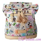 Dooney &amp; Bourke Disney World Exclusive Classic Sketch Backpack  Front  Dizdude.com