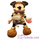 12 inch Safari Mickey Mouse Plush ~ Disney Animal Kingdom © Dizdude.com