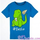 VINTAGE Dinosaur #Selfie Youth T-shirt