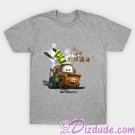 Vintage Disney Pixar Cars Mater Who Backfired? T-shirt