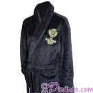 Hollywood Tower Hotel Black Plush Robe (Bathrobe) ~ Disney's Hollywood Studios ~ Twilight Zone Tower of Terror ride