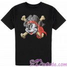 Vintage Disney Pirate Captain Mickey Mouse Youth T-shirt