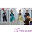 Disney Frozen Mini Doll Set with Elsa - Anna - Hans and Kristoff - Frozen Summer Fun Event 2014 ~ Walt Disney World exclusive