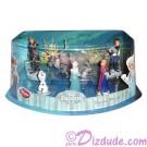 Disney Frozen Figurine Playset with Elsa - Anna - Hans - Olaf - Sven and Kristoff - Frozen Summer Fun Event 2014 ~ Walt Disney World exclusive
