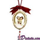 Disney Mickey And Minnie Mouse Ornament © Dizdude.com