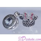 "Disney Pandora ""Minnie Sparkling Ear Hat"" Sterling Silver Charm"