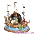 Disney's Peter Pan Pirate Ship Snowglobe (Snow Globe) - Disney Magic Kingdom