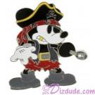 Disney Pirate Mickey Mouse Pin © Dizdude.com