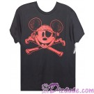 Vintage Disney Pirate Mickey Mouse and Cross Bones Youth T-shirt (Tee, Tshirt or T shirt)