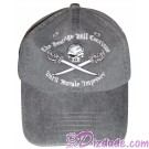 "Pirate of the Caribbean ""The Beatings Will Continue Until Moral Improves"" Embroidered Hat ~ Disney Magic Kingdom"