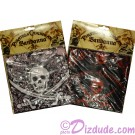 Pirate of the Caribbean Bandanna Red or Pink ~ Disney Magic Kingdom