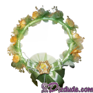 Disney Theme Park TinkerBell Flowered Headband