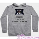 Yo Ho! Yo Ho! A Pirates Life For Me Fantasy Hoodie - Sweatshirt - Long Sleeved T-shirt © Dizdude.com