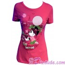 Minnie Mouse Adult T-shirt (Tee, Tshirt or T shirt) - Disney Epcot International Flower & Garden Festival 2017