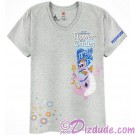 Passholder V-Neck Adult T-shirt with Figment (Tee, Tshirt or T shirt) - Disney Epcot International Flower & Garden Festival 2017