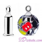 """Disney Pandora Sterling Silver """"Earring Barrel"""" - Use Your Charms as Earrings"""