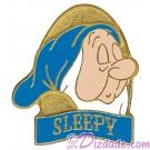 Disney Snow White and the Seven Dwarfs DVD Release - Sleepy Pin