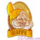 Disney Snow White and the Seven Dwarfs DVD Release - Happy Pin