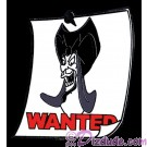 WDW Cast Lanyard Series 3 ~ Wanted Posters Maleficent Pin with Hidden Mickey