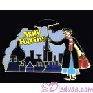 Mary Poppins Over Skyline Pin Autographed by Disney Artist Jeff Ebersohl
