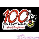Walt Disney World - 100 Years of Magic with Mickey Mouse Painting Pin © Dizdude.com