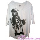 Disney's Pirates of the Caribbean: Dead Men Tell No Tales Jack Sparrow Adult T-shirt (Tee, Tshirt or T shirt)