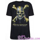 Disney's Pirates of the Caribbean: Dead Men Tell No Tales Logo Skull Adult T-shirt (Tee, Tshirt or T shirt)