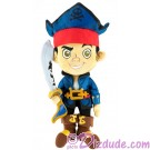 Disney's Captain Jake The Never Land Pirate 12 inch Plush ~ Disney Magic Kingdom © Dizdude.com