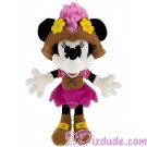 Pirate Minnie Mouse 9 inch (23 cm) Plush ~ Pirate of the Caribbean © Dizdude.com