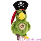 Pirate Parrot 9 inch (23 cm) Plush ~ Pirate of the Caribbean © Dizdude.com